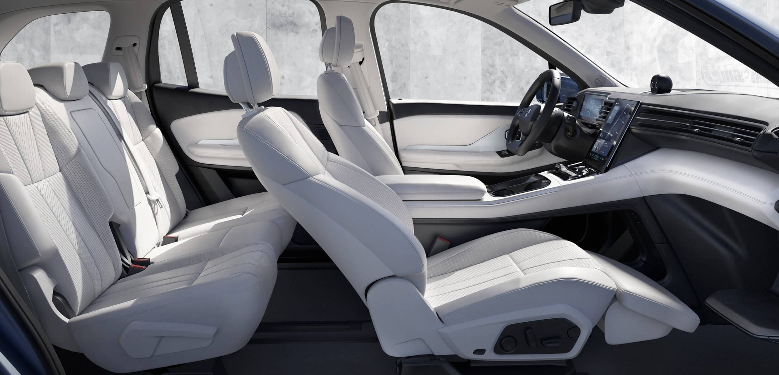 NIO ES8 interior Showcar Creative Wave