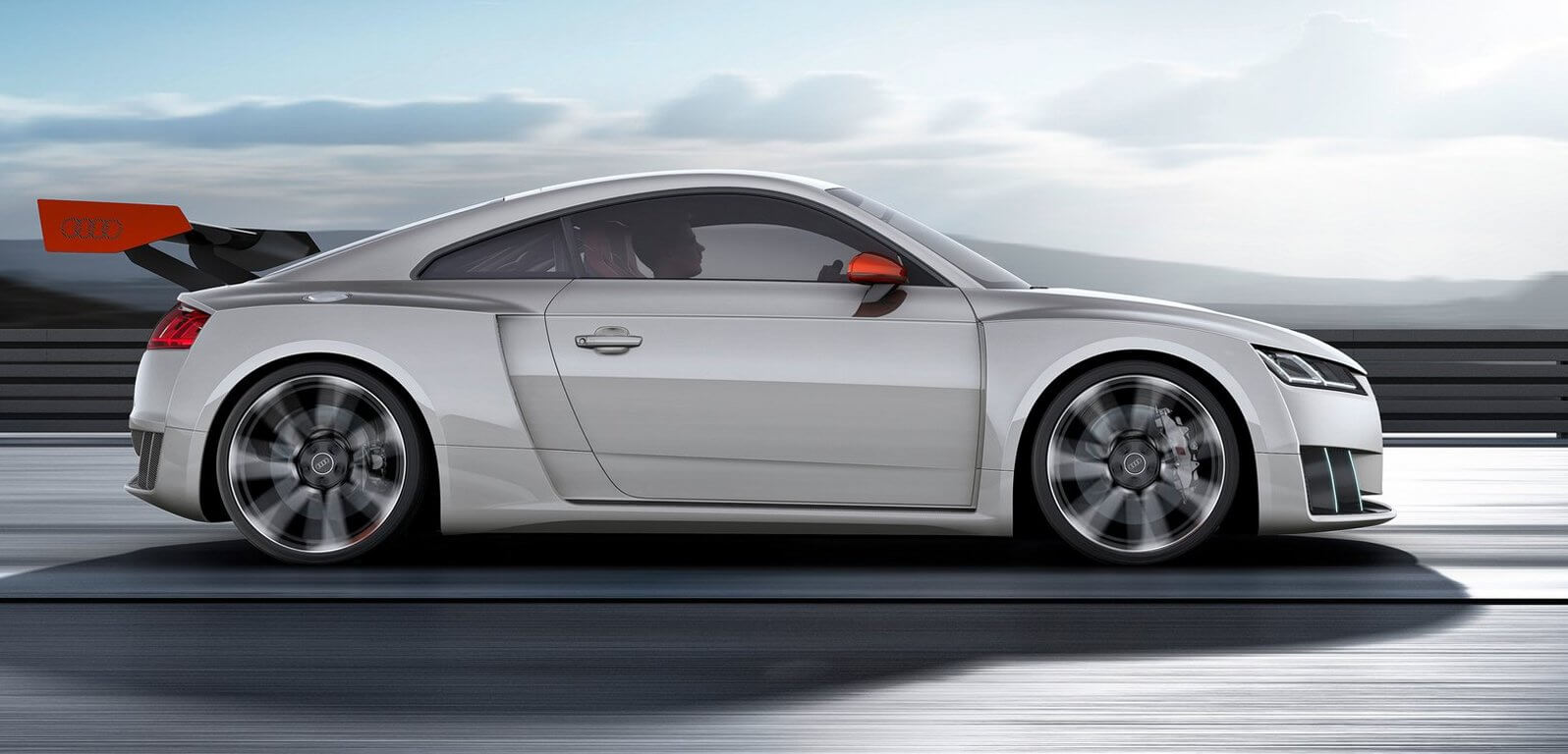 Audi TT Clubsport Sideview Showcar Creative Wave