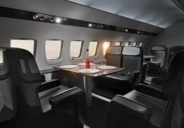 Interior design airplane Creative Wave