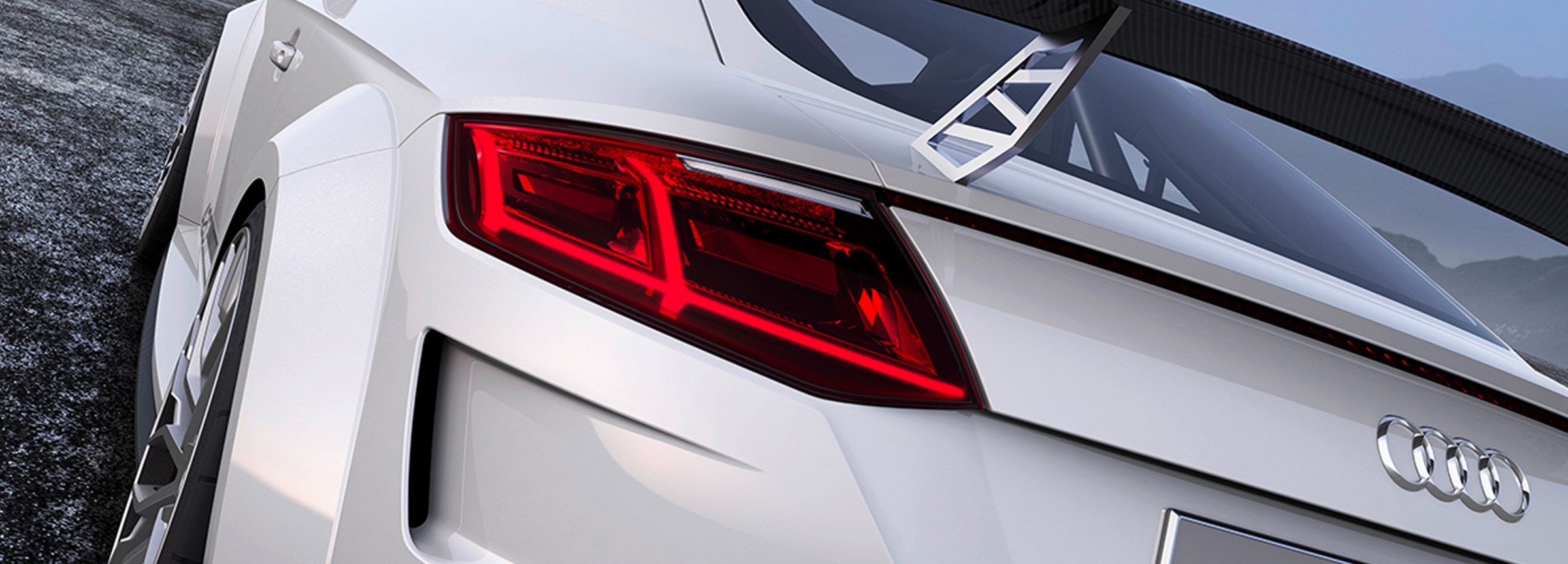 Audi TT Sport rearview Creative Wave