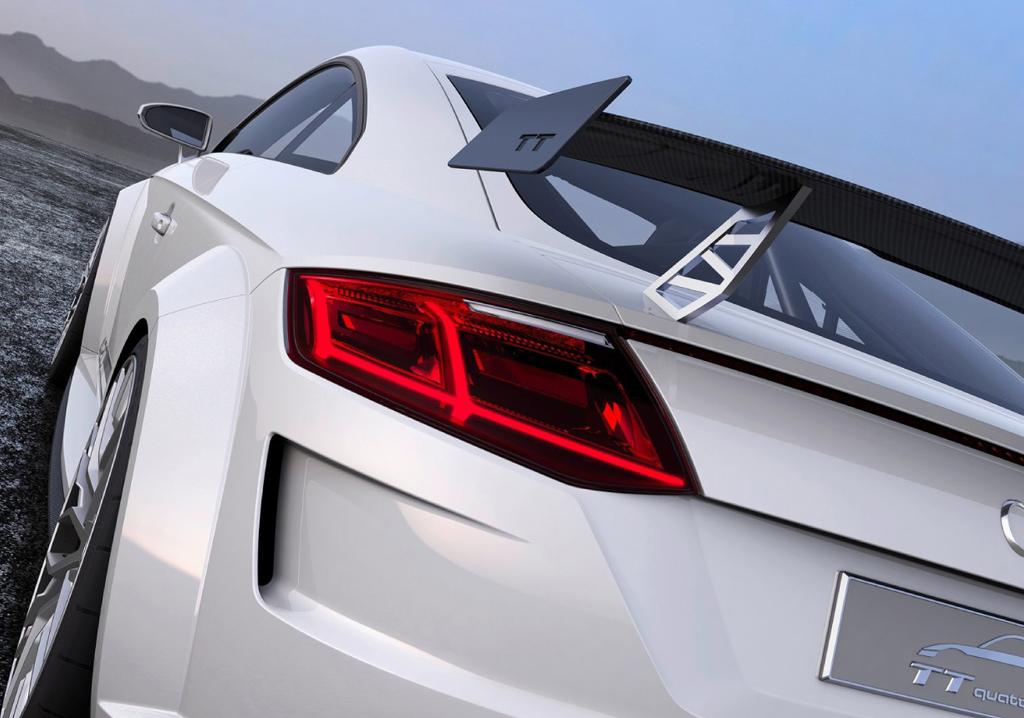 Audi TT Quattro Sport back Showcar Creative Wave