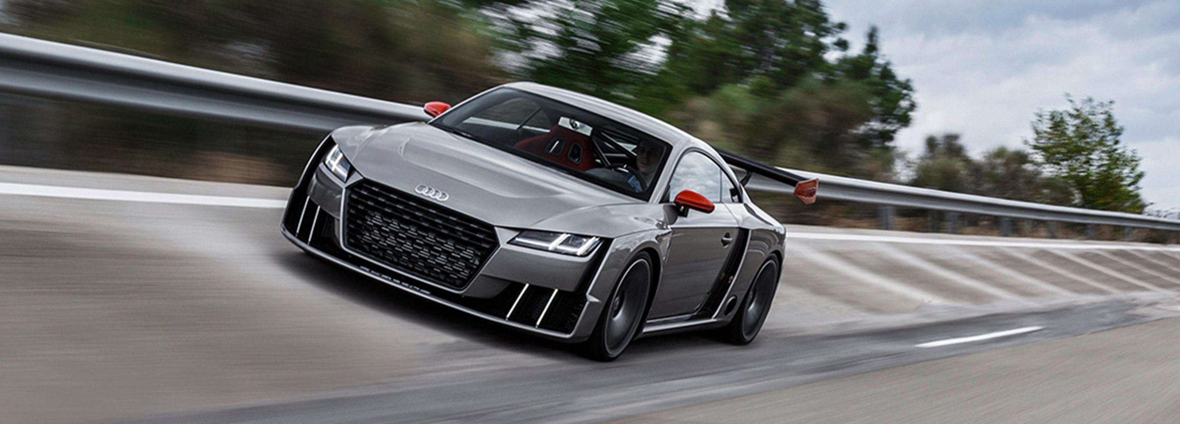 Audi TT Clubsport frontview Showcar Creative Wave