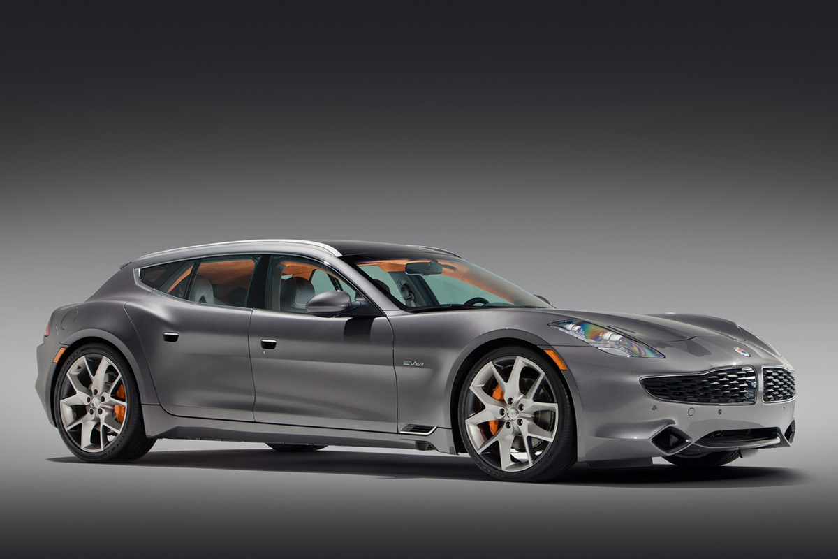 Fisker Surf sideview Showcar Creative Wave