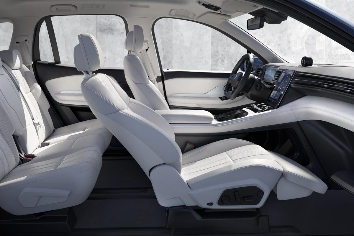 NIO ES8 seats Showcar Creative Wave