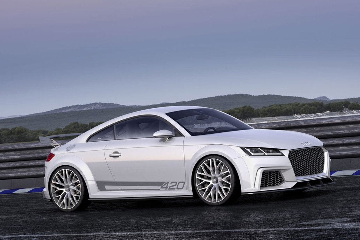 Audi TT Quattro Sport side Showcar Creative Wave