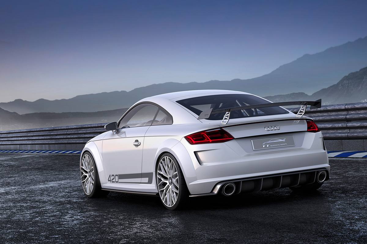 Audi TT Sport back Showcar Creative Wave