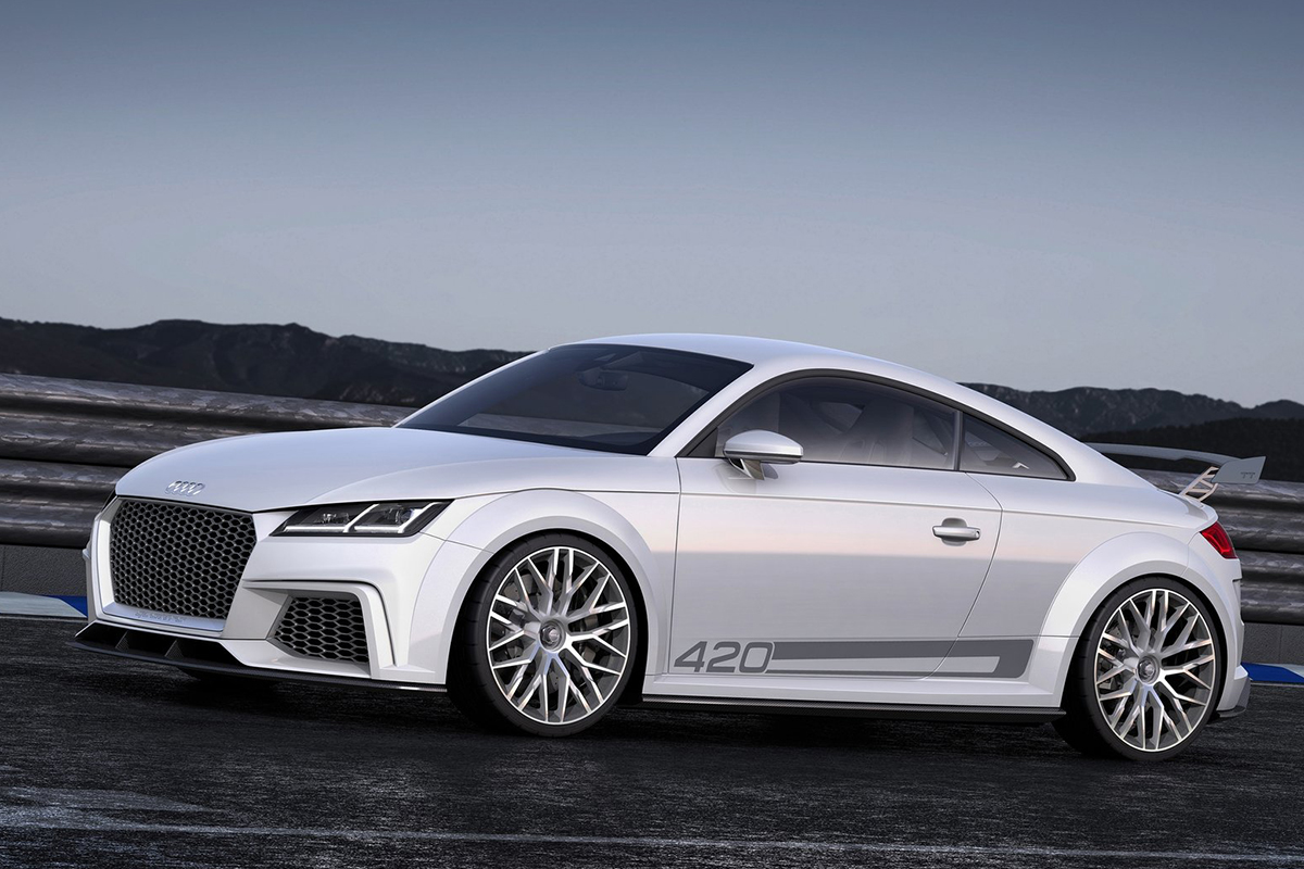 Audi TT Sport sideview Showcar Creative Wave