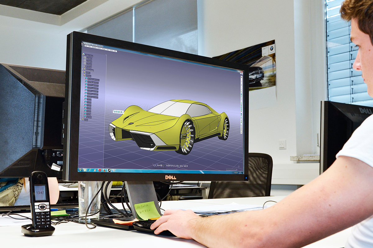 CAD engineering cardesign Creative Wave
