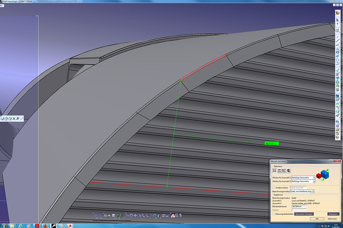 CAD engineering work Creative Wave