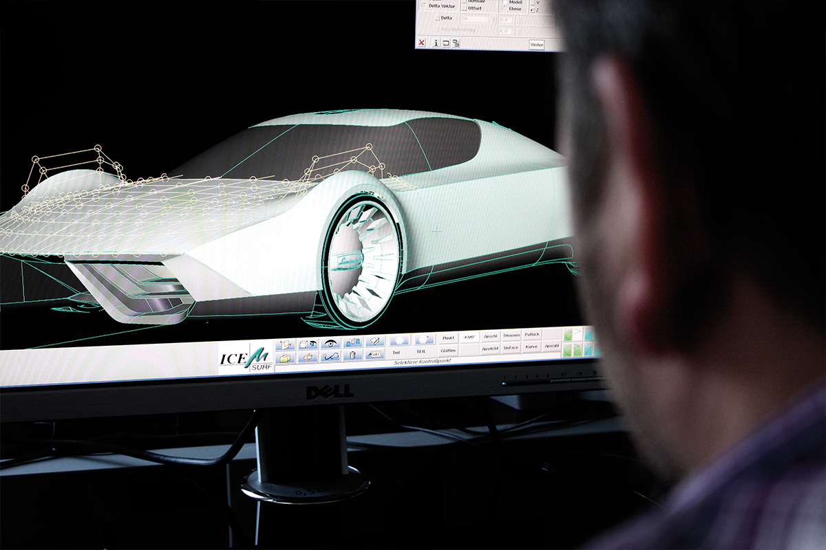 CAS modelling car Creative Wave