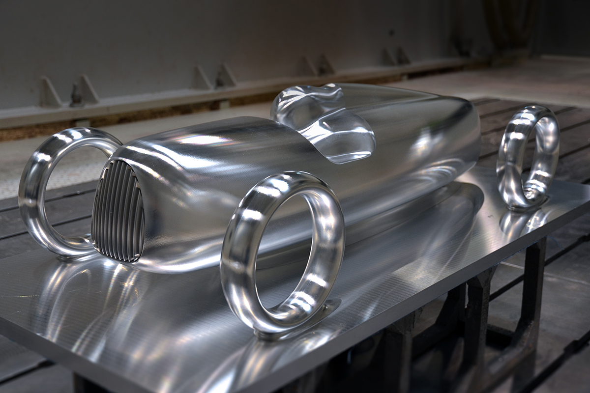Milling car prototype Creative Wave