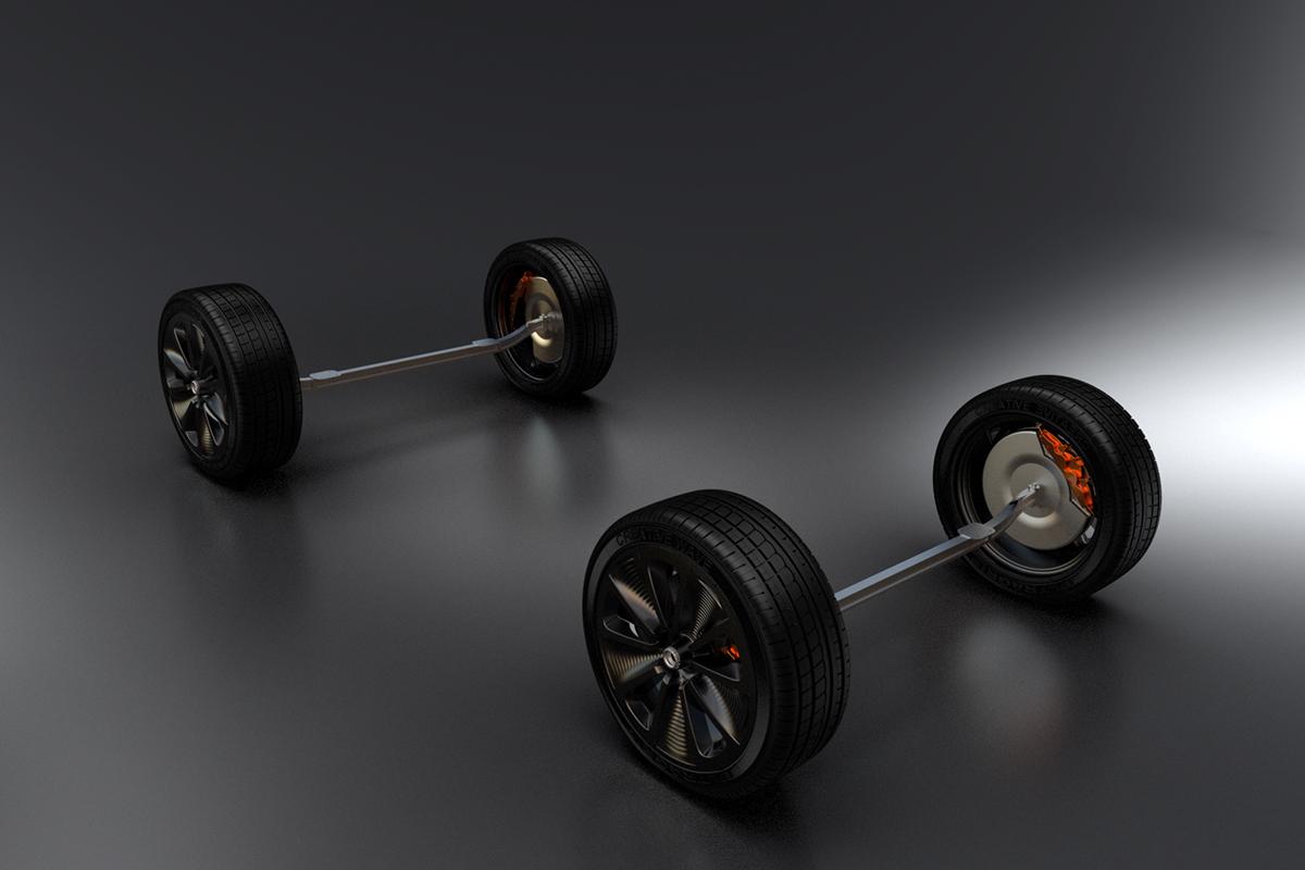 Prototype wheels Creative Wave