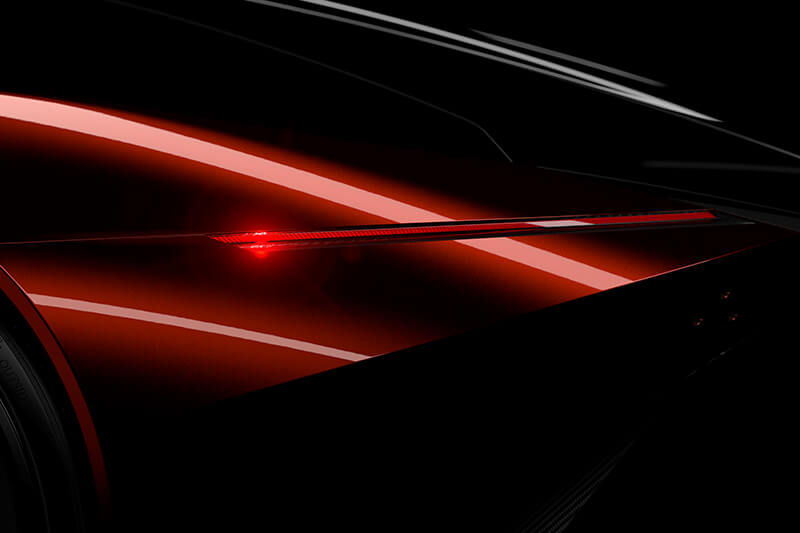 Visualisation detail taillight reflection by Creative Wave