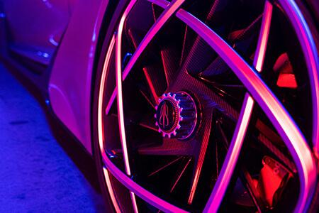 Hongqi S9 rear top Showcar Creative Wave
