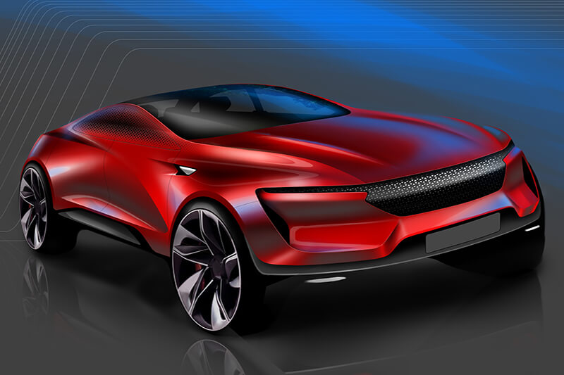 Carsketch SUV Concept Creative Wave