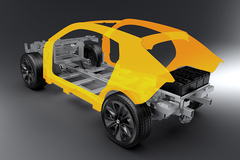 Prototype car design Creative Wave