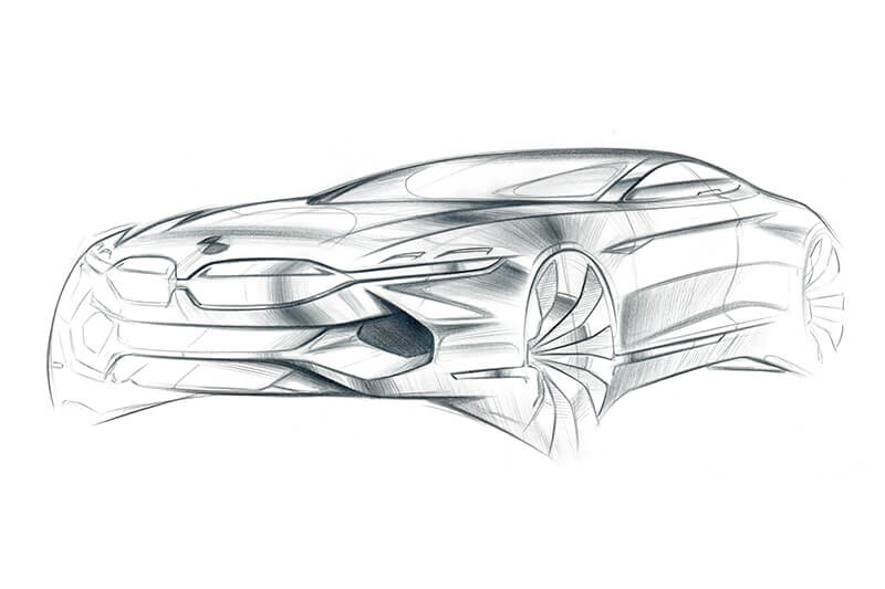 Carsketch Pencil Creative Wave