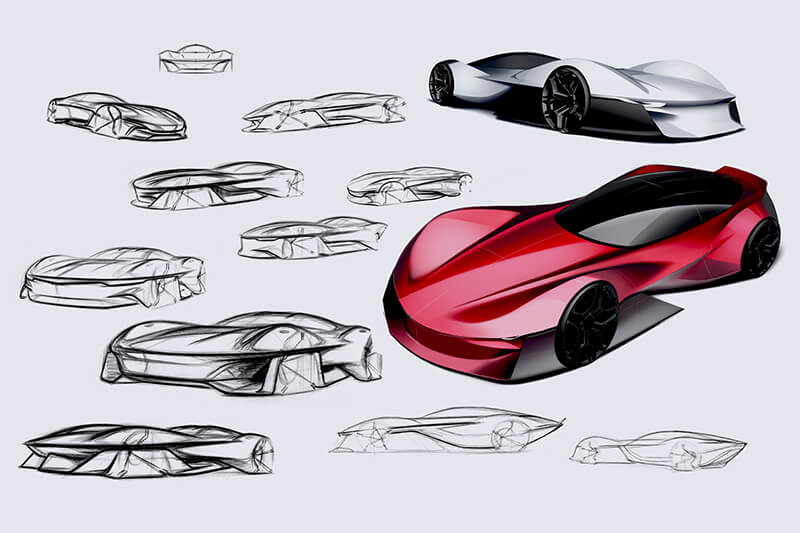Carsketches Doodles Creative Wave